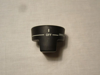 Top Burner Knob Part # PA010034